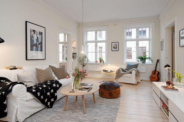 scandi living room