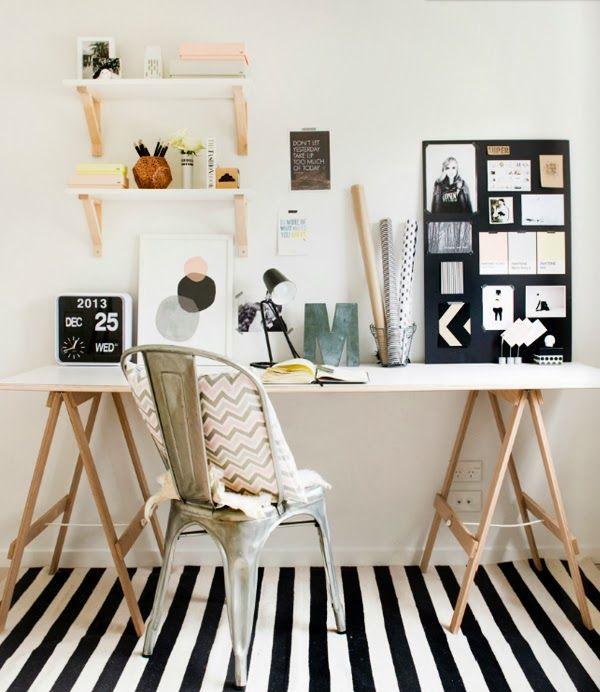 flat table desk