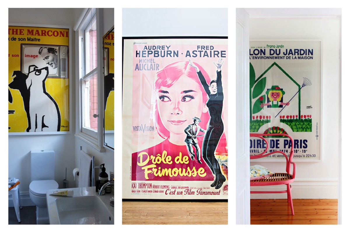 add a fashionable flair to your home with vintage posters trend mogul