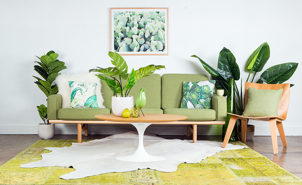 Beautiful The Not So Living Room: Artificial Plants Bring The Outdoors In U2013 No Green  Thumb Required | Trend Mogul